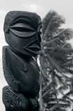Figure of a Cook Islands male in Rarotonga Cook Islands. Royalty Free Stock Photography