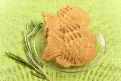 Figure cookies Royalty Free Stock Photos