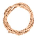 figure corde du double huit de noeud Photo stock
