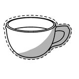 Figure cup coffee icon image Royalty Free Stock Images