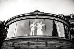 Figure d'ange comme symbole de l'amour, de la gentillesse, et de la souffrance Photographie stock