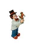 Figure d'un clown images libres de droits