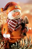 Figure d'un snow-man Images stock