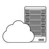 Figure data hosting optimization application related Stock Photo