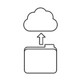 Figure database storage icon image design. Vetor illustration Stock Photo