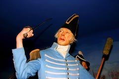 Figure de cire du Général Andrew Jackson image libre de droits