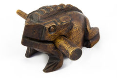 Figure de grenouille d'arbre Image stock