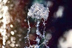 Figure de la fontaine d'eau Photo libre de droits