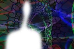 Figure de lumière Images libres de droits
