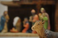 Figure decorative di Natale fotografia stock