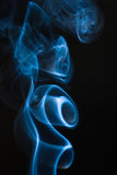 Figure del fumo Fotografie Stock