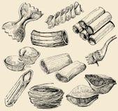 Figure della pasta Fotografia Stock
