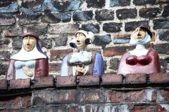 Figure della porcellana Fotografie Stock