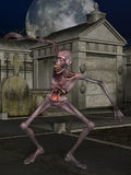 figure den halloween zombien Royaltyfri Fotografi