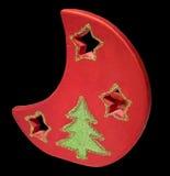 figure den svarta julen för bakgrund isolerat Fotografering för Bildbyråer
