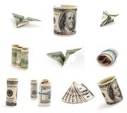 Figure des dollars. Image libre de droits