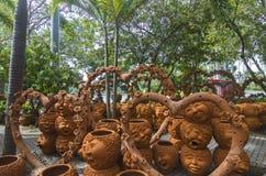 Figure di ceramica Fotografia Stock
