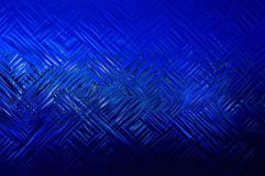 Figure di fondo astratte linee blu Fotografie Stock