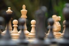 Figure di scacchi Fotografia Stock Libera da Diritti