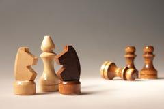 Figure di scacchi Fotografie Stock