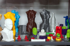 figure di stampa 3D Immagine Stock Libera da Diritti