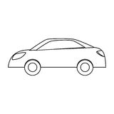 Figure drive car icon image. Illustration Stock Photo
