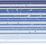 figure e priorità bassa blu dei fogli   Fotografia Stock