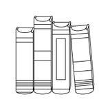 Figure educational books icon image Stock Images