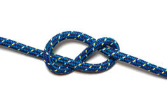Figure eight knot Royalty Free Stock Image