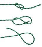 Figure eight knot Stock Photos