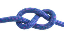 Figure eight knot Stock Photography