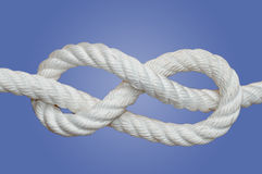 Figure eight knot Royalty Free Stock Images