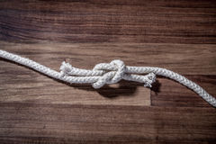 Figure eight Knot Royalty Free Stock Photos