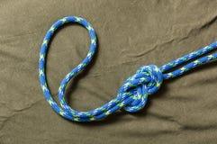Figure-eight loop Flemish loop. Royalty Free Stock Image