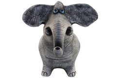 Figure of an elephant royalty free stock photo
