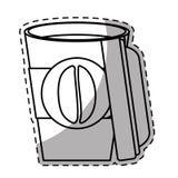 Figure espresso coffee open image Stock Photo