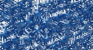 Figure flocons de neige Images libres de droits