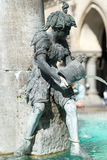Figure in a fountain Royalty Free Stock Image