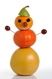 Figure from fruit Royalty Free Stock Photo