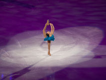 Figure gala olympique de patinage - Mirai Nagasu Photo stock