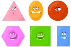 Figure geometriche illustrazione di stock