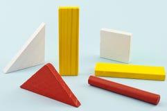 Figure geometriche. fotografia stock