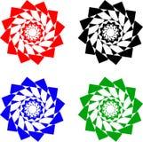 Figure geometriche illustrazione vettoriale