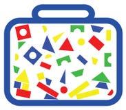 Figure geometriche Immagine Stock