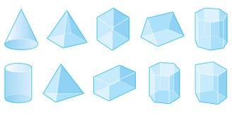 Figure geometriche Fotografia Stock Libera da Diritti