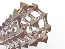 figure geometriskt enkelt Royaltyfria Bilder