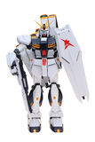 Figure of Gundam animation Stock Image