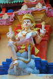 The figure in the Hindu temple. Janardana Swami Temple. Varkala Temple Royalty Free Stock Images