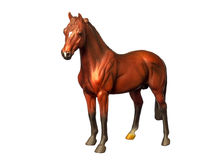 Figure of a horse Royalty Free Stock Images