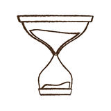 Figure hourglass icon image Royalty Free Stock Photo